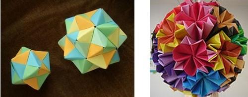 折り紙手毬